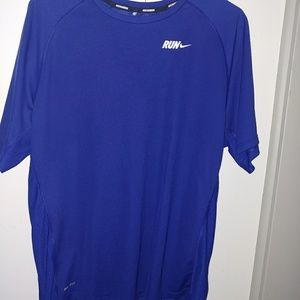 Nike Run running dri fit running shirt